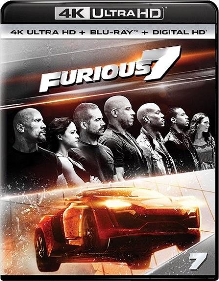 Furious 7 EXTENDED 4K (Rápidos y Furiosos 7) (2015) 2160p 4K UltraHD HDR BluRay REMUX 45GB mkv Dual Audio DTS-HD 7.1 ch