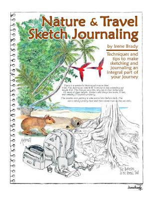 Nature Drawing and Journaling Trips : My Sketch/Journal is now a