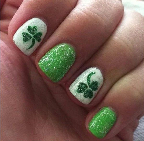 Crazy Nails Designs for St Patrick\'s Day | St Patrick\'s Day Nails ...