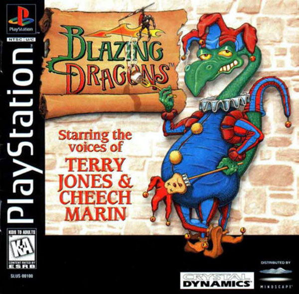 Blazing Dragons - PS1 - ISOs Download