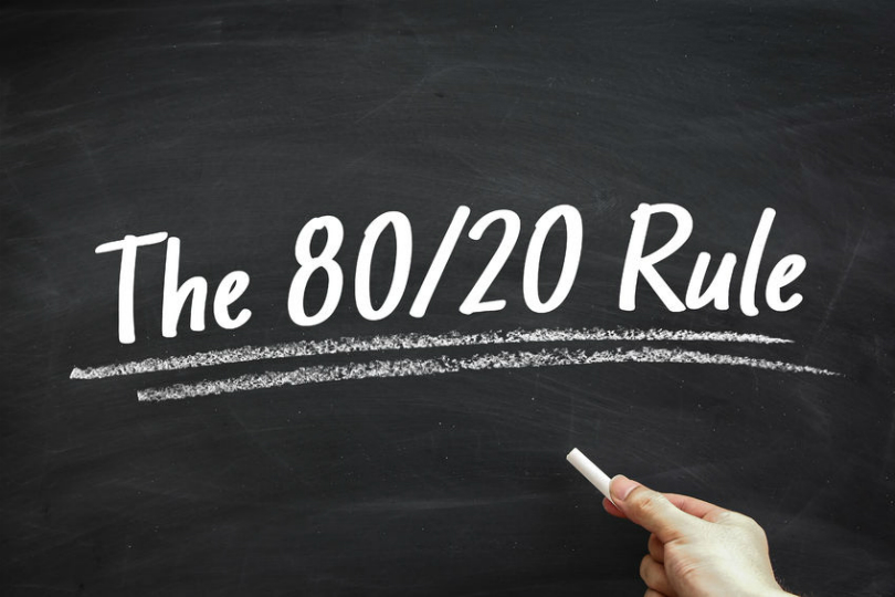 80 20 rule with dating