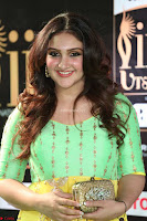 Sridevi Telugu Actressi in green Yellow Anarkali Dress at IIFA Utsavam Awards 035.JPG