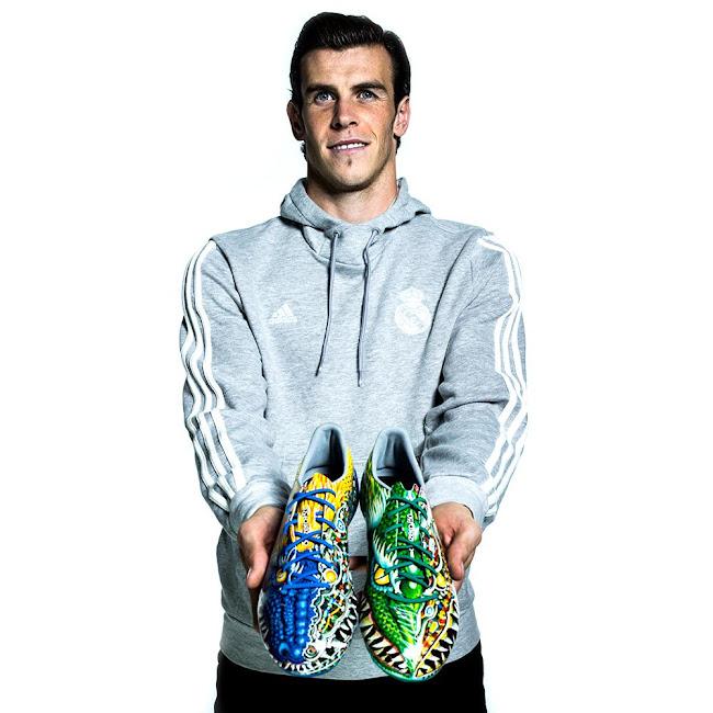 Deformación crear Desagradable  Bale, Benzema, Marcelo and James Rodríguez to debut F50 Adizero Yamamoto  Boots in Champions League this Wednesday - Footy Headlines