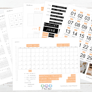 April 2019 Bullet Journal / Planner Free Printable Stickers!