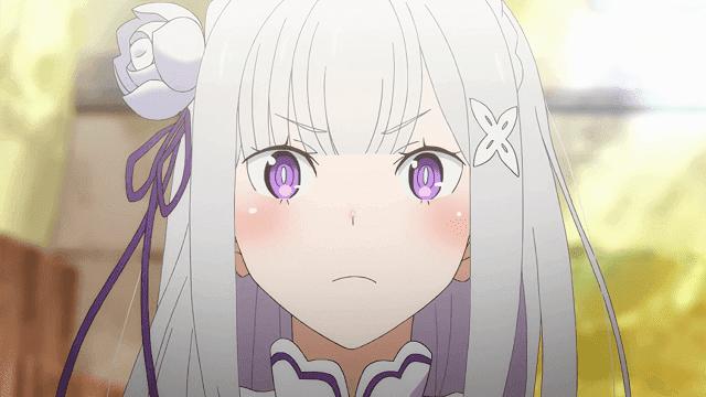 Emilia adalah seorang elf yang baik hati