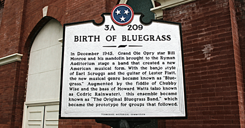 Ryman Auditorium Birth of Bluegrass