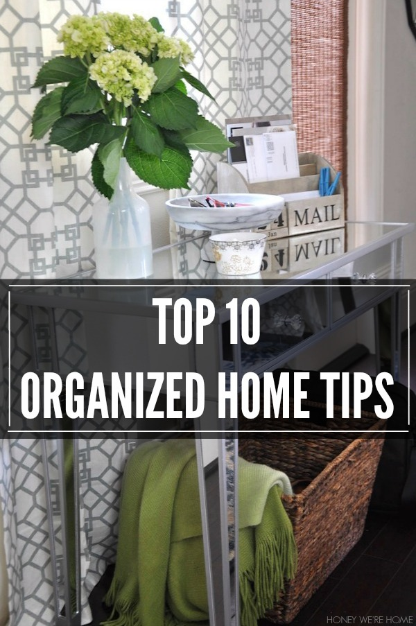 Getting Organized In The New Year Honey We Re Home