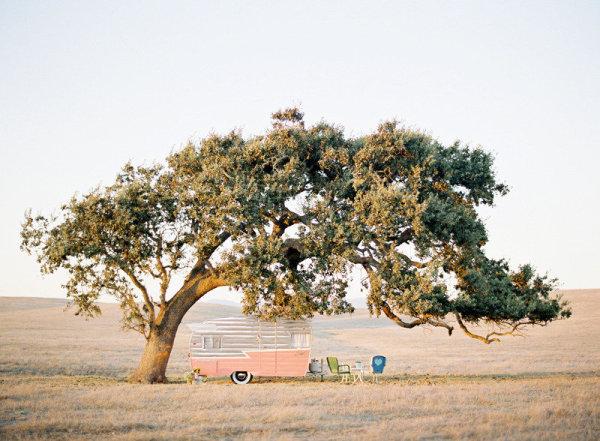 Lugares para soñar | Una caravana de estilo retro