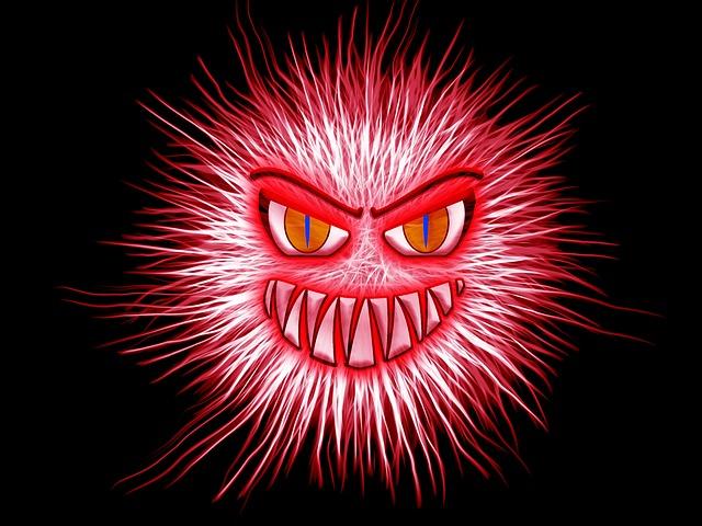 Cartoon: Red Monster Face
