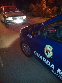 Guarda Municipal de Jundiaí localiza Gol roubado