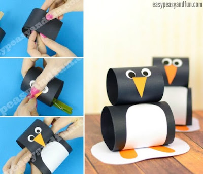 How To Make Cute Simple Penguin Craft