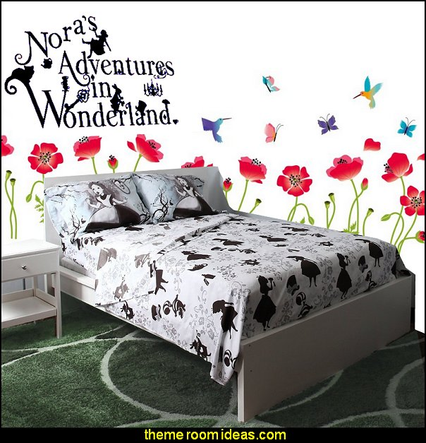 Disney Alice In Wonderland Alice Silhouette bedding