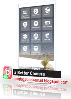 aplikasi kamera android terpopuler  better camera