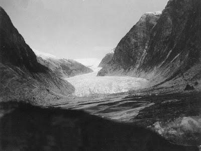 glaciar Nigards en 1940