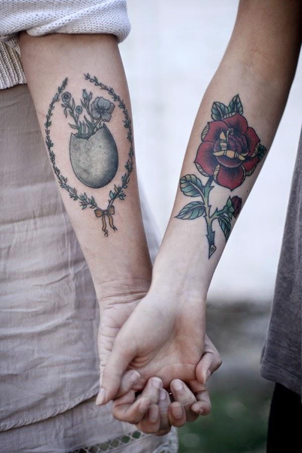 Tatuajes A Juego Para Parejas Belagoria La Web De Los Tatuajes