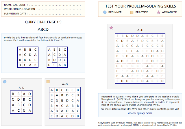 ABCD Division Puzzles