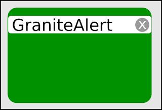 GraniteAlert