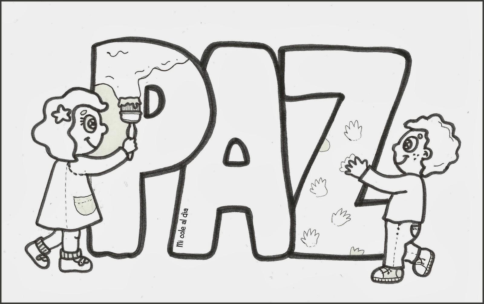 Día De La Paz Galería De Dibujos Y Carteles Niños Del: Educación Infantil: DÍA DE LA PAZ