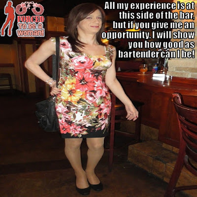 Give me an opportunity - Sissy TG Caption