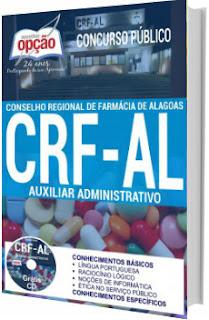 Apostila CRF-AL 2017 Auxiliar Administrativo