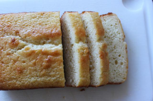 Lemon Yogurt Bread with Cardamom Syrup | A Hoppy Medium
