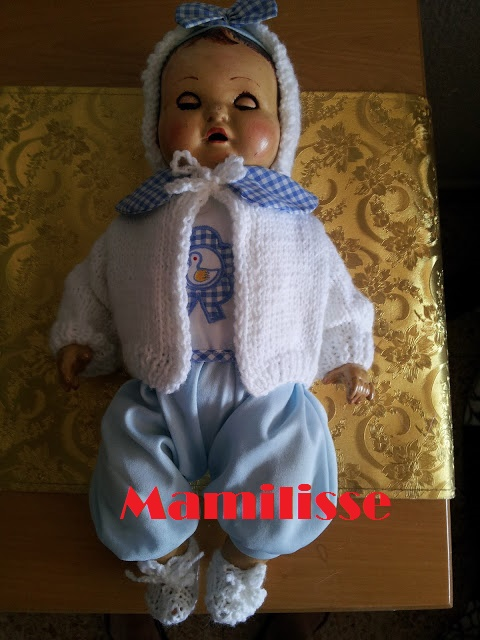 Muñeca llorón años 30-40