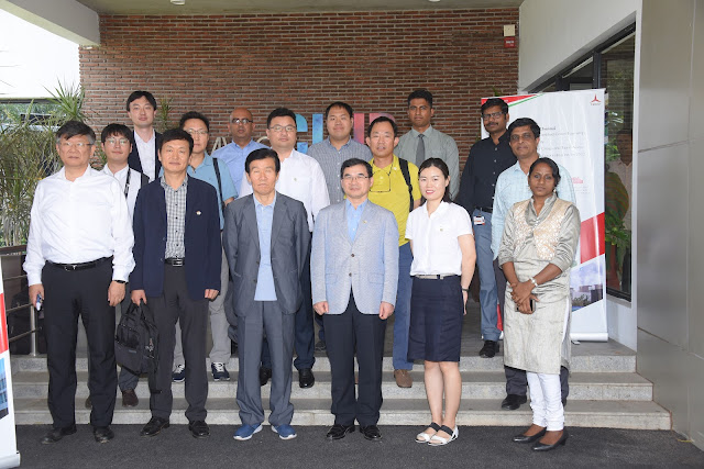Korean investment delegation visit Mahindra World City, Chennai