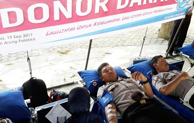 Polres Bone Gelar Aksi Donor Darah