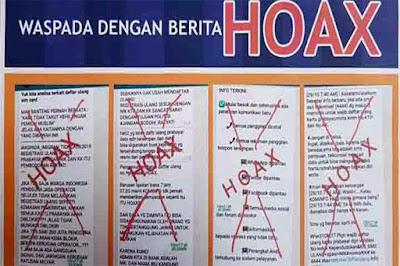 Hoax Registrasi Kartu SIM Prabayar