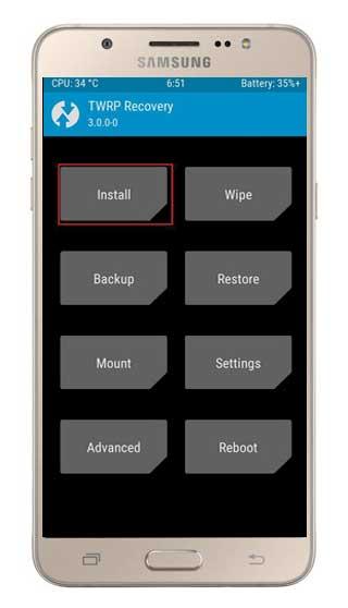 Cara Pasang TWRP dan Root Pada Samsung Galaxy J7