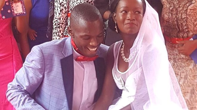 Kenyan couple treated to lavish ceremony after $1 wedding