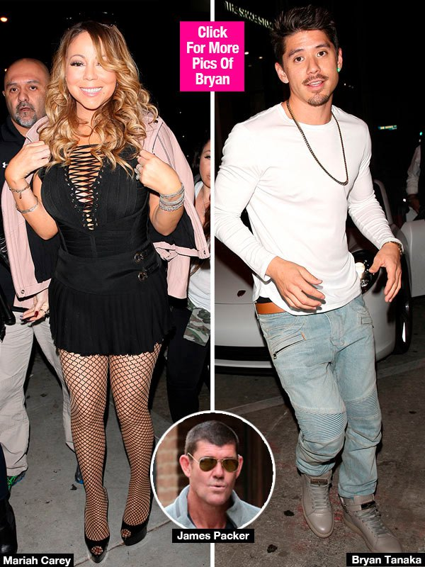 Mariah Carey & Sexy Backup Dancer Caught On Dinner Date After James Packer Split — Pic