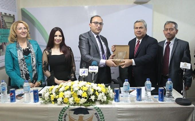Dubes RI Raih Penghargaan Pendidikan dan Kebudayaan di Mesir