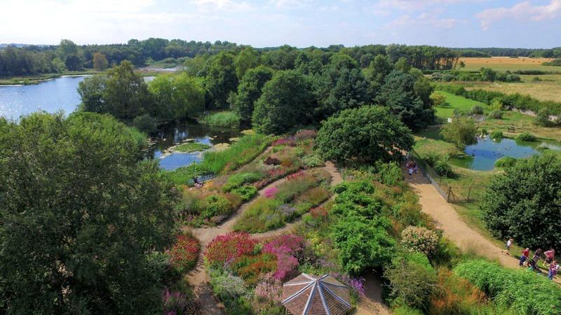 primer jardín que diseñó Piet Oudolf en el Reino Unido
