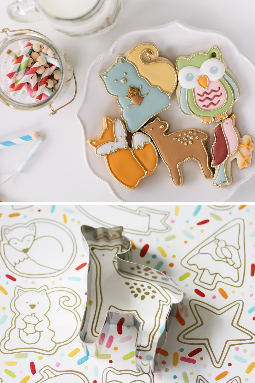 deer cookie by Emma's Sweets using a cookie cutter from How Sweet Is That