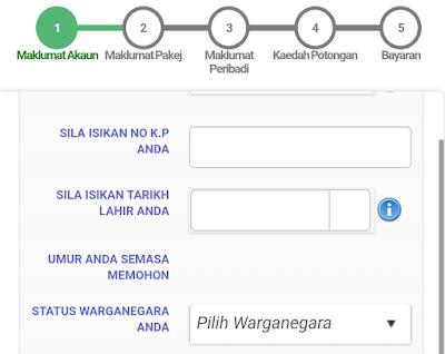 Cara Daftar Akaun SSPN-i Plus Online