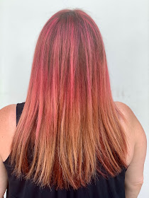 Keratin Complex, Keratin Complex GraffitiGlam, Keratin Complex Shocking Pink, pink hair, Jesse German, Martinez-Samuel Salon, hair, hair salon, hair color, Los Angeles, Jamie Allison Sanders, The Beauty of Life