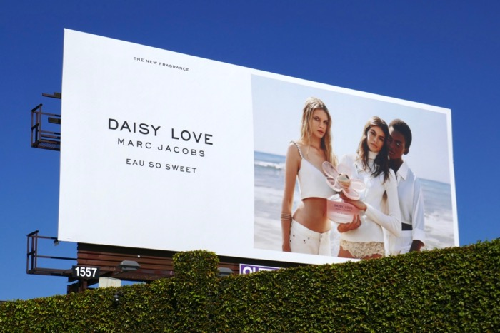 Daisy Love Marc Jacobs Eau So Sweet 2019 billboard