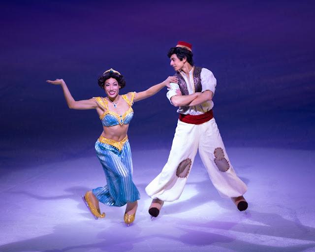 Disney on Ice presents Dream Big review - Princess Jasmine and Aladdin