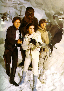 Star Wars The Empire Strikes Back cast Luke Leian Han