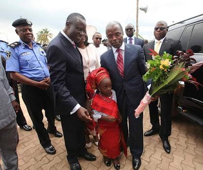 Vice President Osinbajo Visits Ibadan For A Friend's Birthday Celebration. Photos