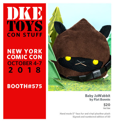 New York Comic Con 2018 Exclusive Baby JaWabbit Star Wars Plush by Flat Bonnie x DKE Toys