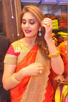 Surabhi looks stunning in Saree at Nakshatra Fashion Store Launch at Suchitra X Road 29.JPG