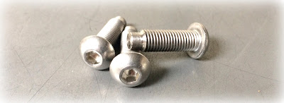 Special custom button head socket screw with 1/2 dog point in 18-8 stainless steel - santa ana, orange county, southern california