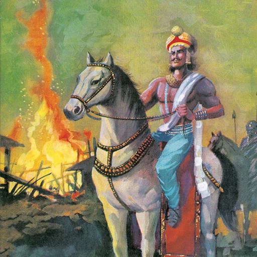 Vào đời ông nội của Asoka là Chandragupta đã nhiều lần đem quân dẹp những  trận quấy nhiễu của Đại đế Alexander I và II ở nước Hy Lạp nằm về phía ...