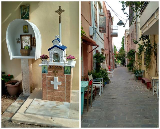uliczki w Chanii, co można zobaczyć na Krecie