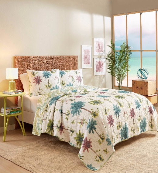 Playful Palm Tree Bedding