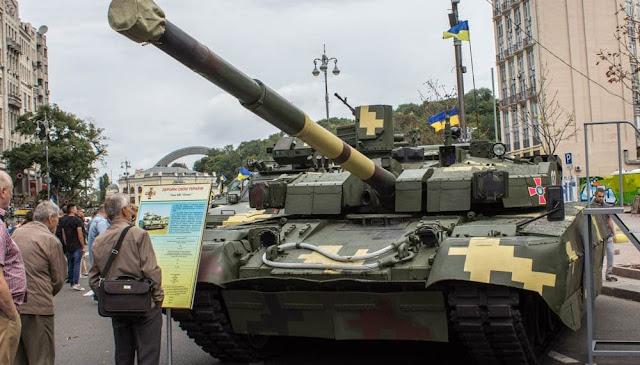 Ukraine xác nhận Nước này đang thiết kế mẫu Xe Tank chủ lực Thế hệ mới