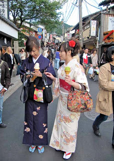 Shop Girls Kyoto Japan