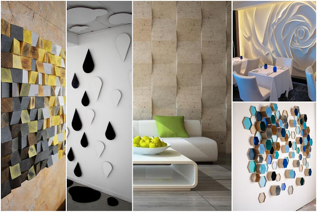 3D Wall Decorations Tips For More Beautiful House